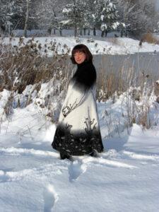 Seelenmantel Winterknospe Kundenauftrag