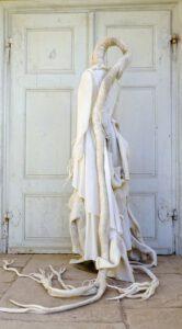 Textilobjekt Kleid Kinderpullover FilzWurzeln 2017 (3)
